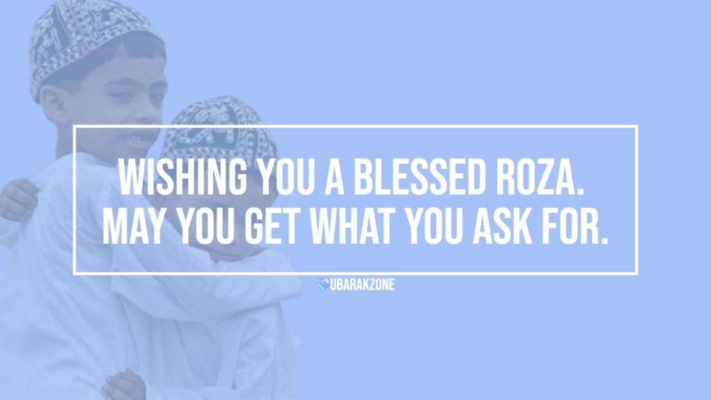 roza mubarak wishes messages - 02